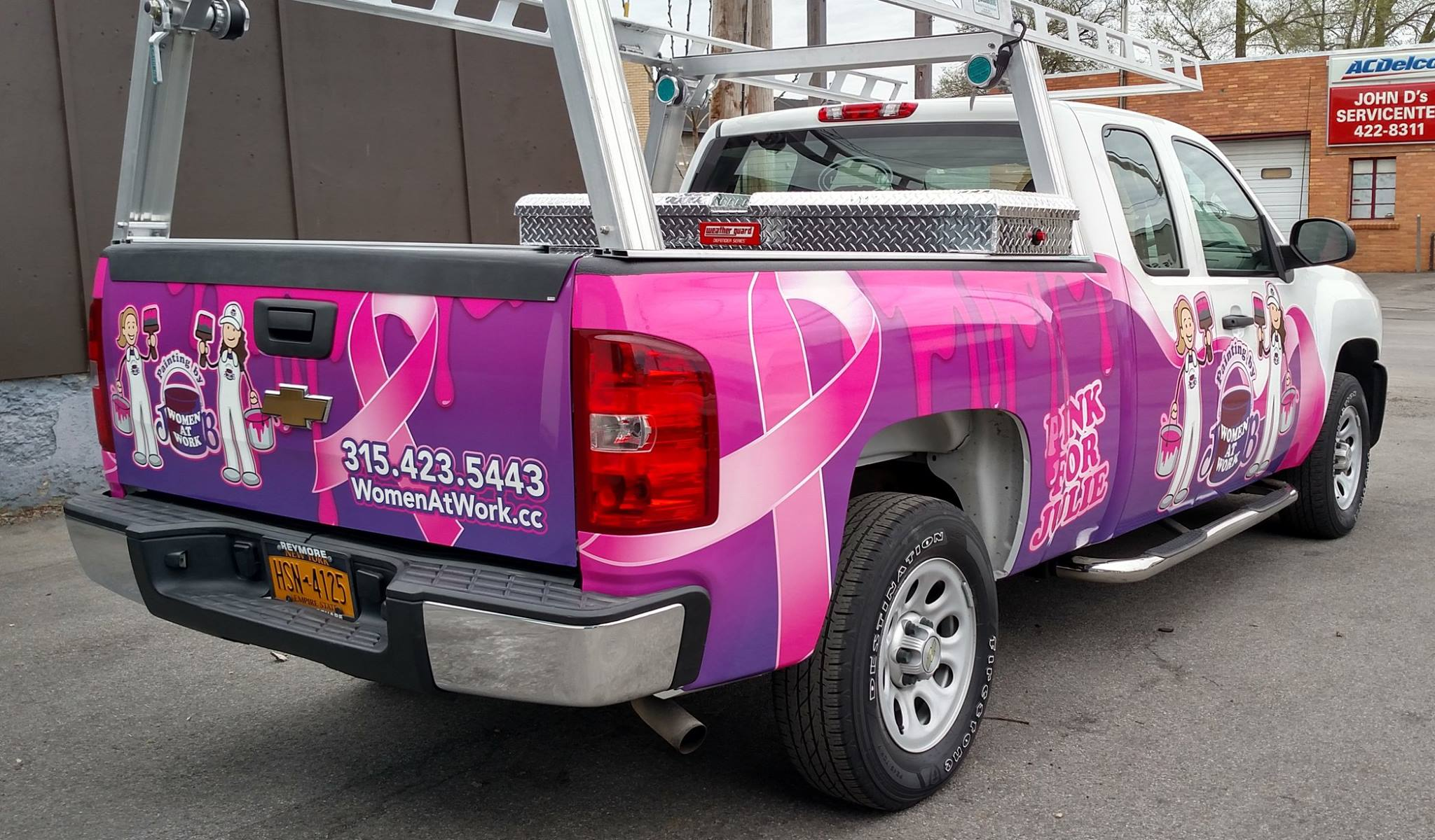 Examples of Vehicle Advertising