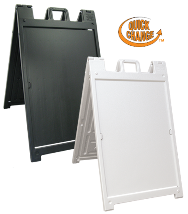 Easy Change Portable A-Frame Signs