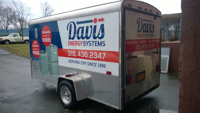 Trailer Wrap Syracuse NY