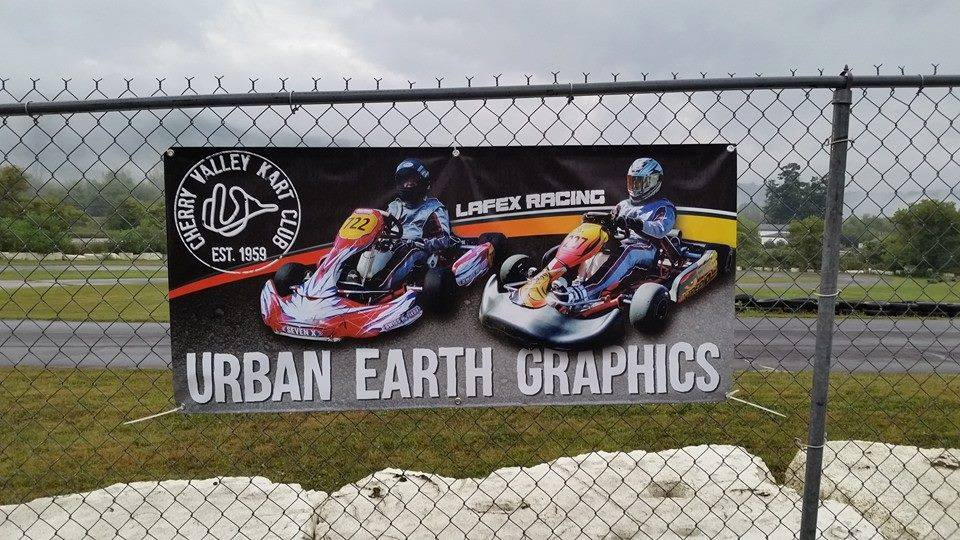 Example of a Custom Vinyl Banner